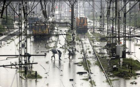 Heavy Rainfall In Mumbai