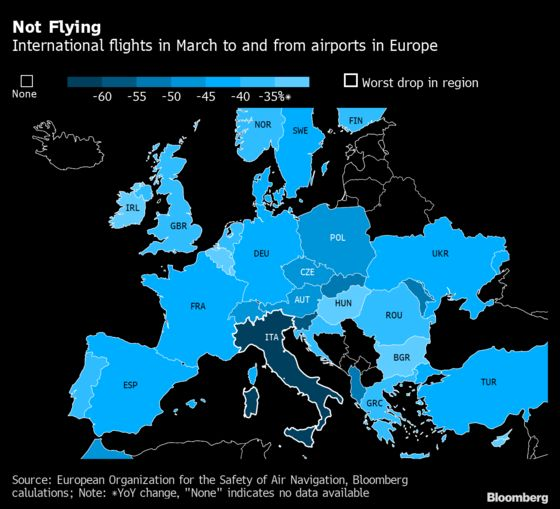 Europe's Airlines Face Their Biggest Ever Peacetime Crisis
