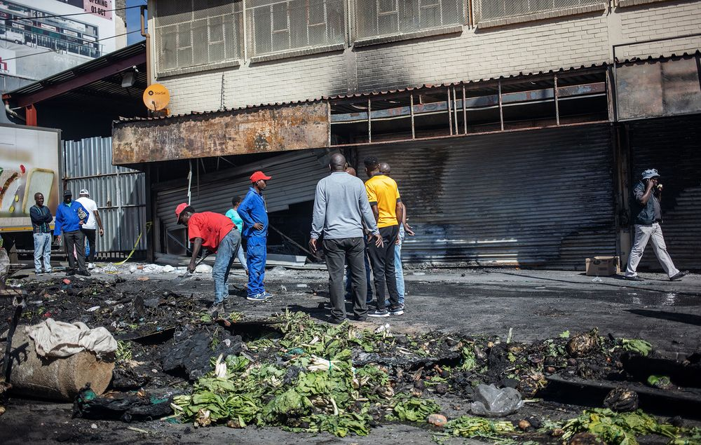 Image result for SOUTH AFRICA XENOPHOBIC ATTACKS GROUND BUSINESSES