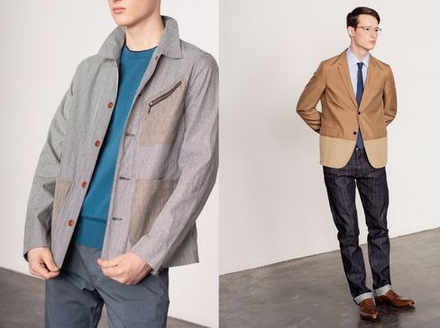 A shirt jacket—think of it as a heavier button-up—works in place of a blazer at casual offices.