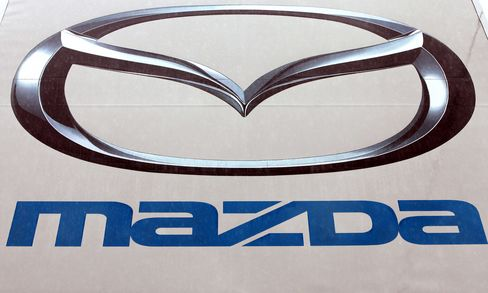 Mazda Leads Japanese Automaker Shares Lower on Yen