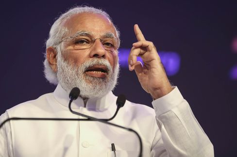 Indian Prime Minister Narendra Modi Speaks At The Bloomberg India Economic Forum 2016