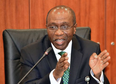 Nigeria's Central Bank governor Godwin Emefiele. Source: STR/AFP/Getty Images