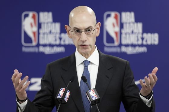 NBA's Adam Silver Says Crisis in China Triggered 'Substantial'Losses
