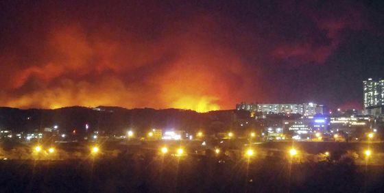 South Korean President Urges Disaster Declaration Over Wildfire