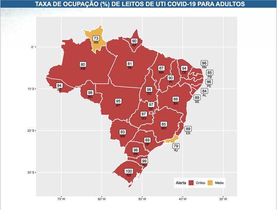 Brazil Breaches 90,000 Covid Cases in Record Day