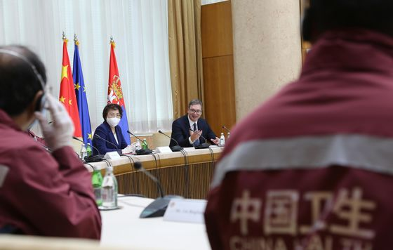 China Is Helping aEuropean Ally Get Ahead on Vaccines