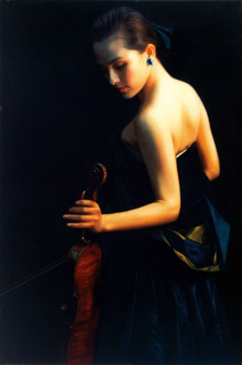 Painting by Chen Yifei