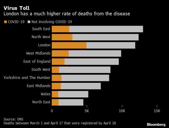 Coronavirus Is Killing More People in Poorest Parts of U.K.