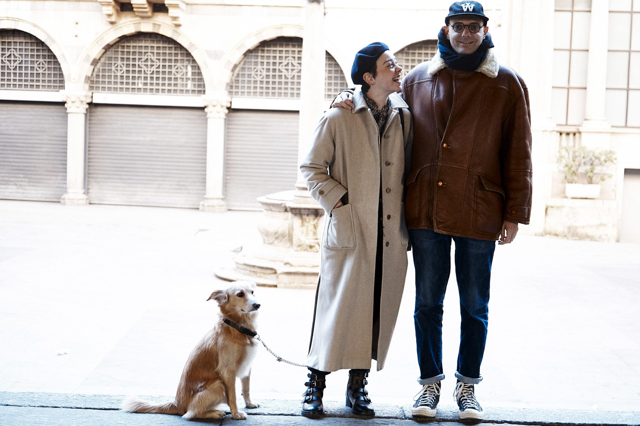 Francesca and Andrea + Aldo, the Mixed Breed