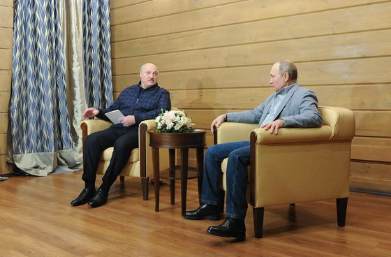 Putin Agrees to Deepen Economic Ties With Belarus Amid Sanctions