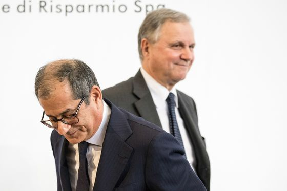 Bank of Italy Savages Populist Plan as Tria Defends Spending