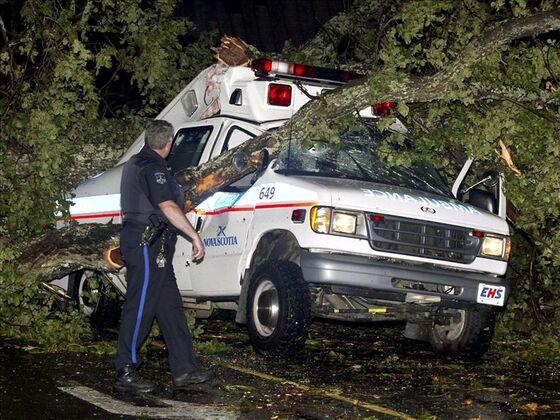 Mega-Hurricane Risk Spurs Swiss Re Warning to Unprepared Canada