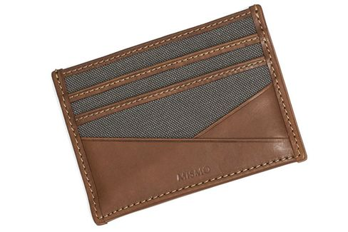 A stylish wallet doesn't have to be all leather to be rugged.