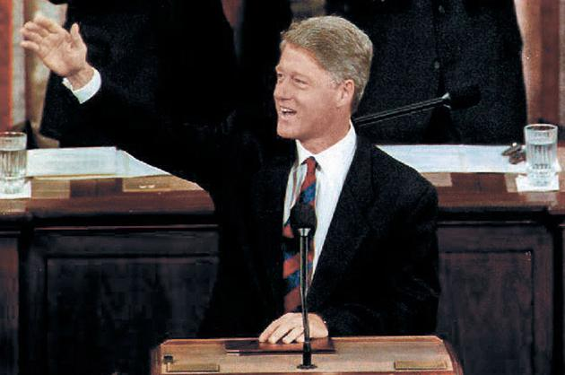 Bill Clinton, 1993