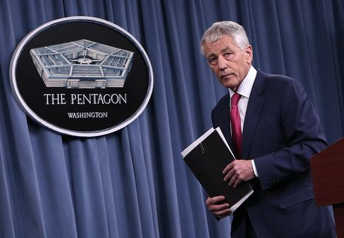 U.S. Defense Secretary Chuck Hagel