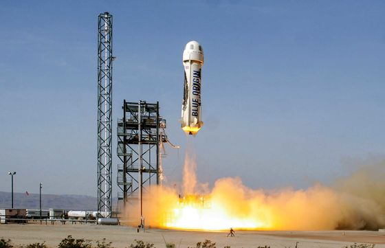 Jeff Bezos Wants to Send You to Space, Too