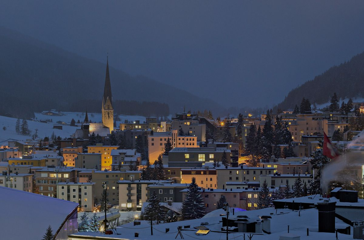 The Davos World Economic Forum in Pictures - Bloomberg