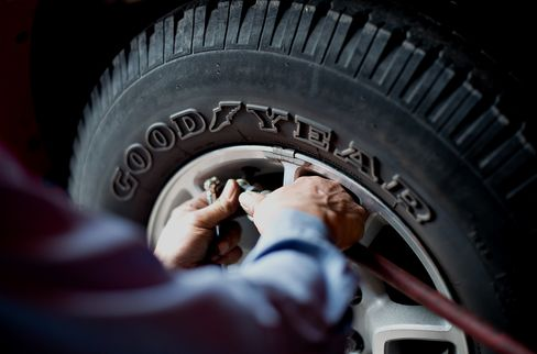 Goodyear Falls After Missing Analysts' Estimates