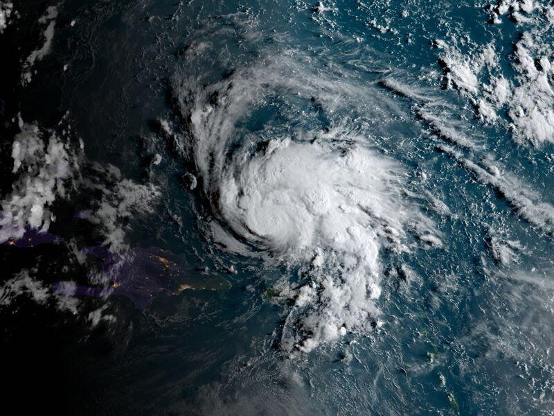 Hurricane Dorian on Aug. 29.