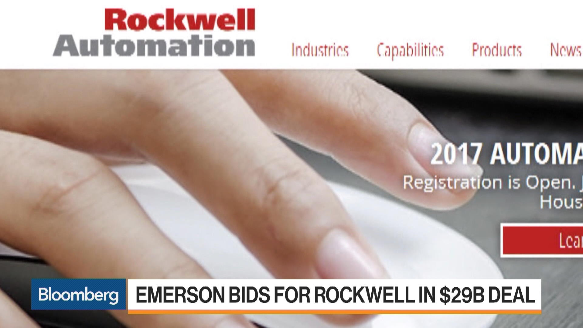 ROK:New York Stock Quote - Rockwell Automation Inc - Bloomberg Markets