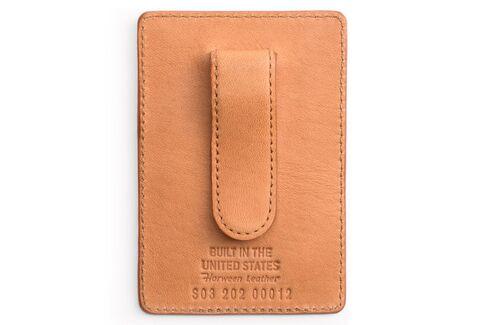 More than a credit card holder, but still slimmer than a bi-fold wallet.