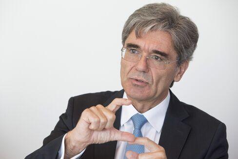 Siemens AG Chief Executive Officer Joe Kaeser