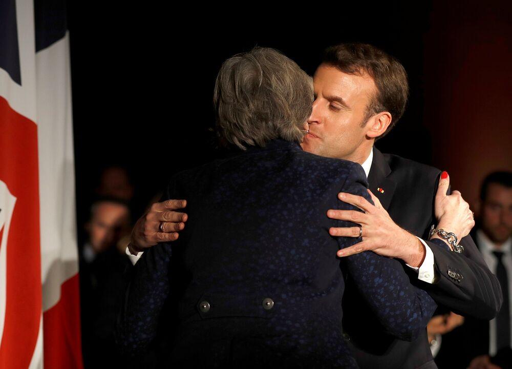 Emmanuel Macron Keeps a Door Open for the British