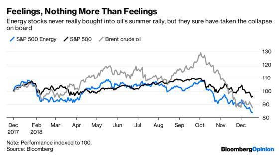 Feeling All the Feels in Energy Stocks
