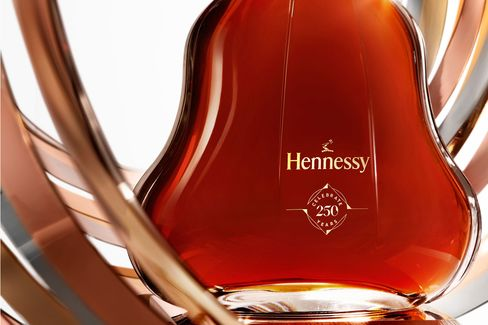 The special decanter bottle comes packaged with a heavy metal stopper.