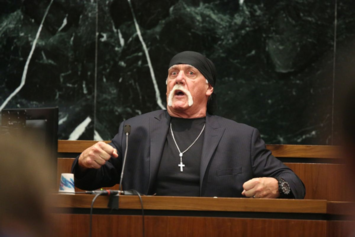 Sorry, Hulk Hogan, the First Amendment Is on Gawker's Side - Bloomberg