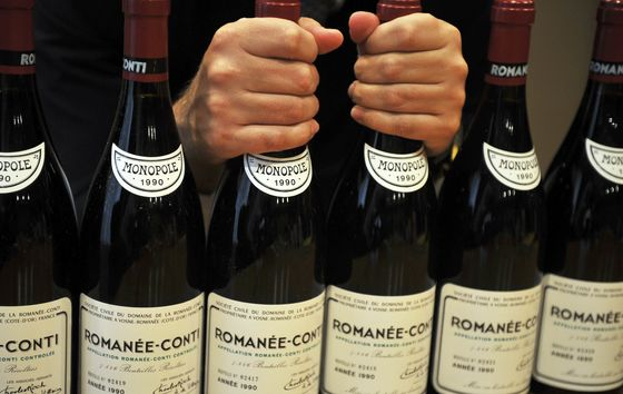 Thirst for Rare Wine and Whisky Drives Surge in Auction Sales