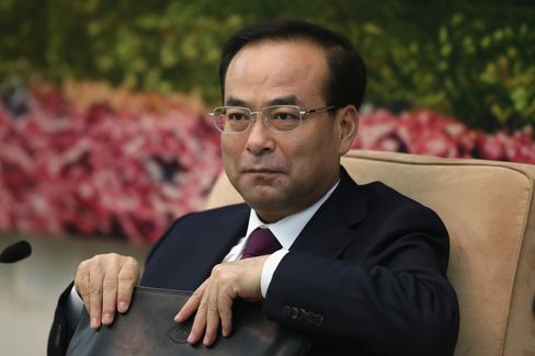 Communist Party Boss of Jilin Province Sun Zhengcai