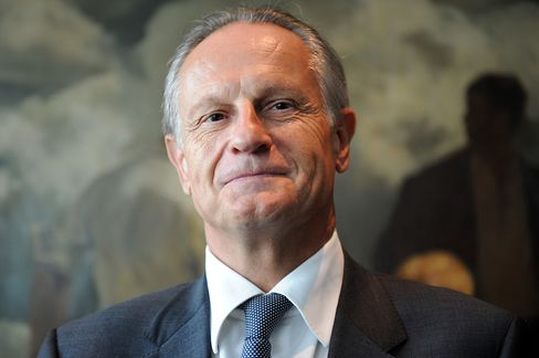 Credit Agricole CEO Jean-Paul Chifflet