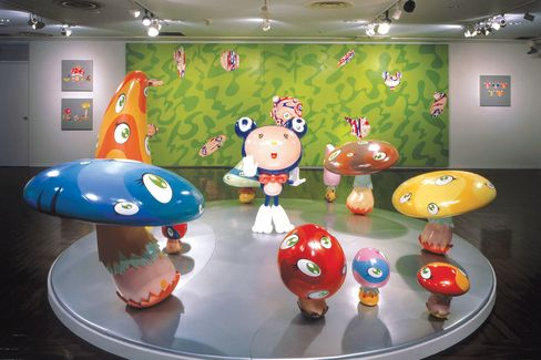 Murakami Finds His Art Too Pricey, Market 'Scary'