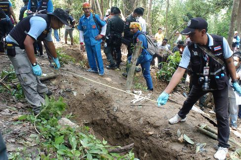 Thailand Bodies Discovered