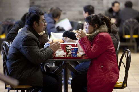 China Growth Shift Splits KFC-Hydraulics as Investment Slows