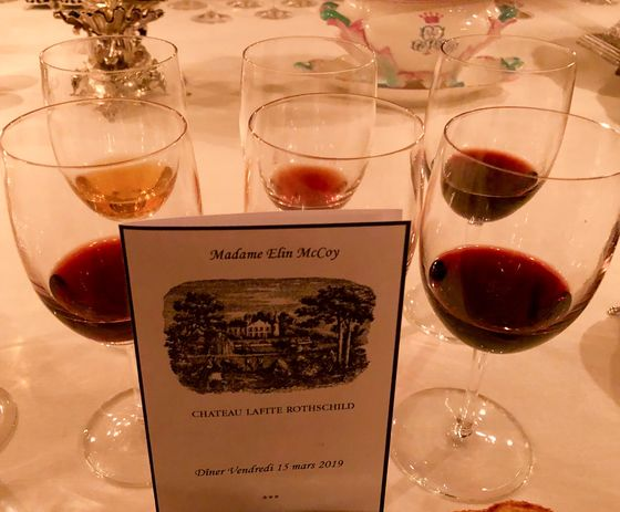 Tasting 114-Year-Old Wine With the Rothschilds at Château Lafite