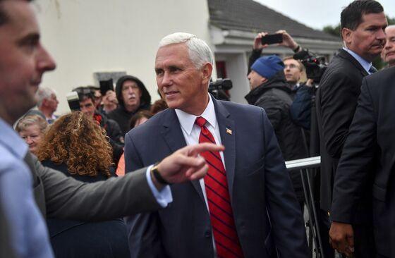 Trump Says 'No Involvement' in Pence's Stay at His Irish Resort