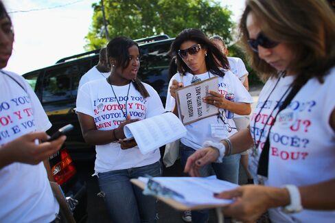Democrats Keep Voter Registration Lead in Battleground States
