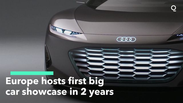Munich Hosts Europe's First Major Car Show Since Covid