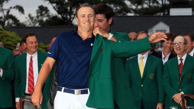 25cc3774638e Masters Champ Jordan Spieth  Under Armour s Latest Underdog Story -  Bloomberg