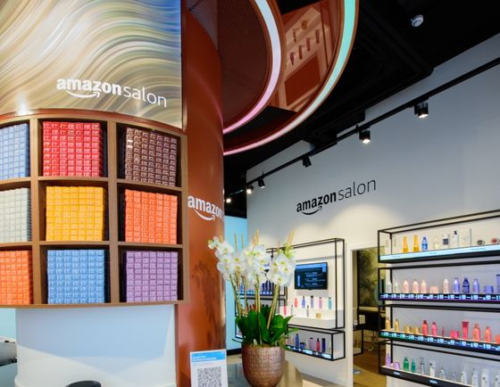 Amazon Opens London Augmented Reality Salon to Showcase Tech