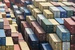 Shipping containers at the Yangshan Deep Water Port in Shanghai, China.