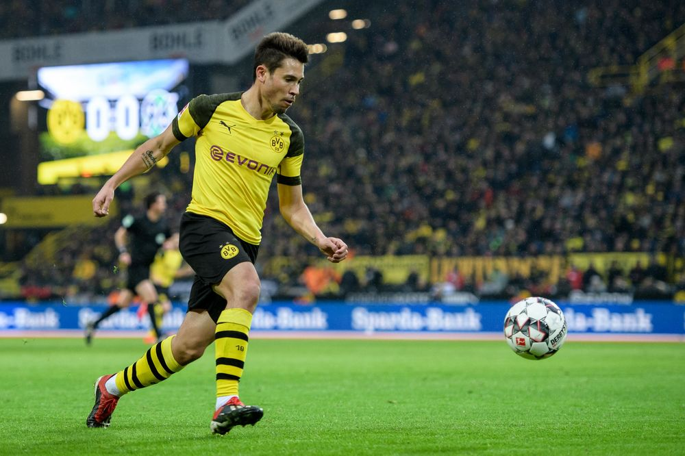 Raphael Guerreiro of Dortmund.