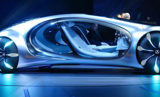 Daimler Goes Hollywood With 'Avatar'-Inspired Cyborg Concept Car