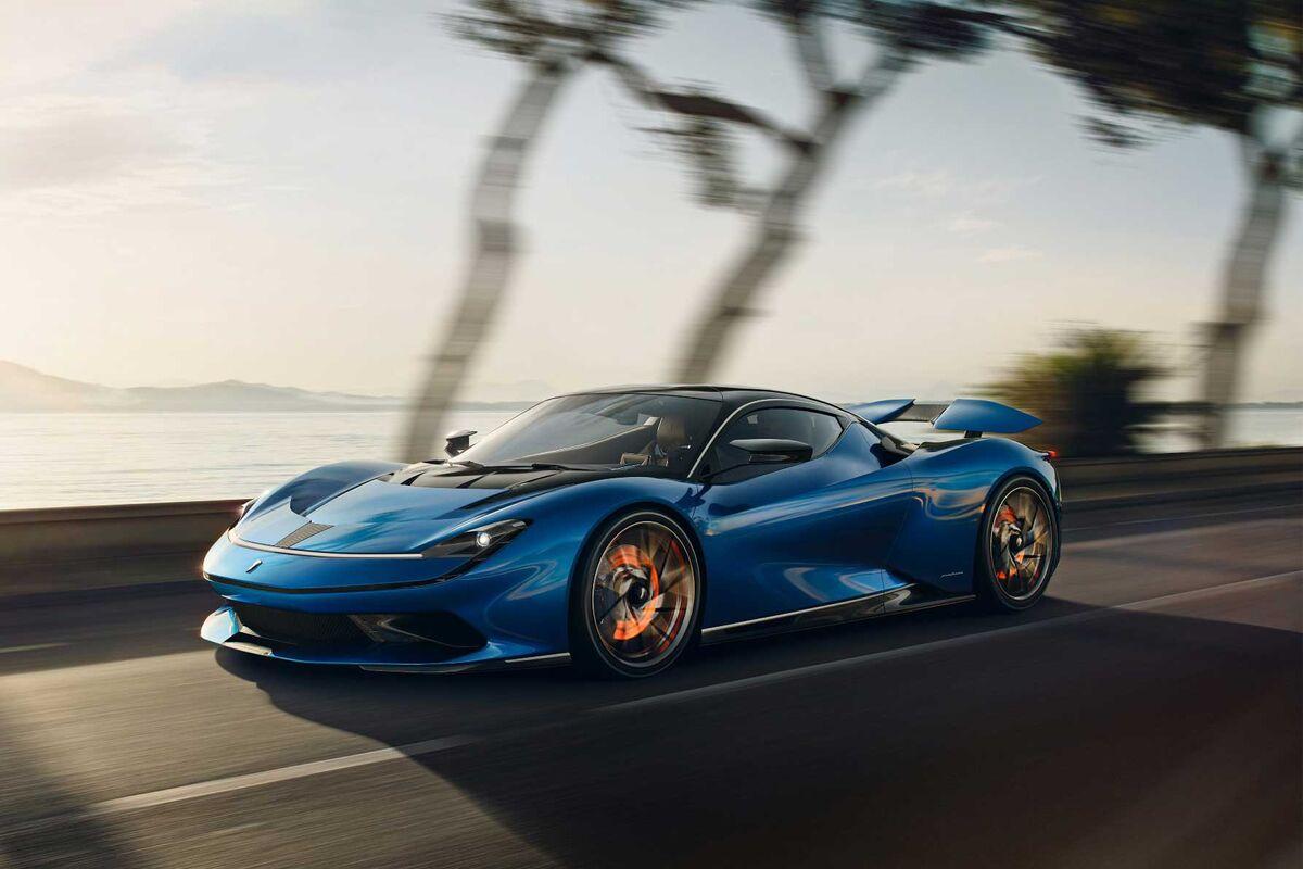 Pininfarina Battista Electric Supercar First Drive 2 Million Bloomberg
