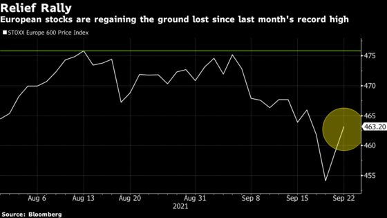 European Stocks Rise as Fed Decision Adds Fuel to Relief Rally