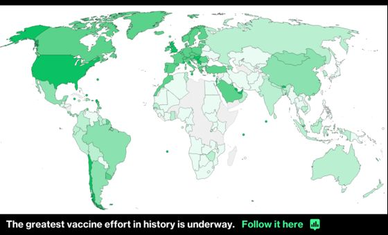 Wealthy Nations' Vaccine Spree Obscures Global Covid Misery