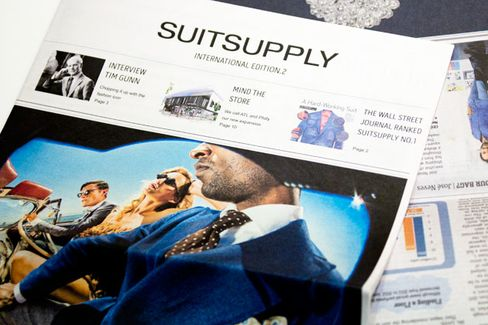 Suitsupply Splurges on New Stores and an Ad Blitz